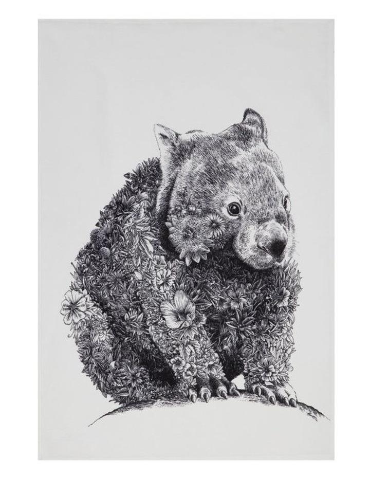 Marini Ferlazzo Tea Towel 50x70cm Wombat image 1