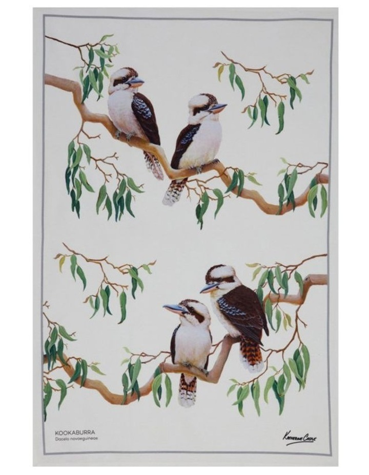 Birdsong Tea Towel 50x70cm Kookabura image 1