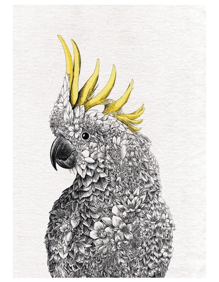 Marini Ferlazzo Birds Tea Towel 50x70cm Cockatoo image 1
