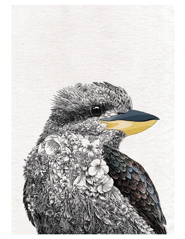 Marini Ferlazzo Birds Tea Towel 50x70cm Kookaburra image 1