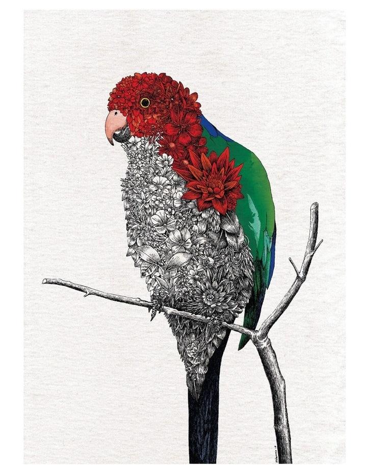 Marini Ferlazzo Birds Tea Towel 50x70cm Parrot image 1