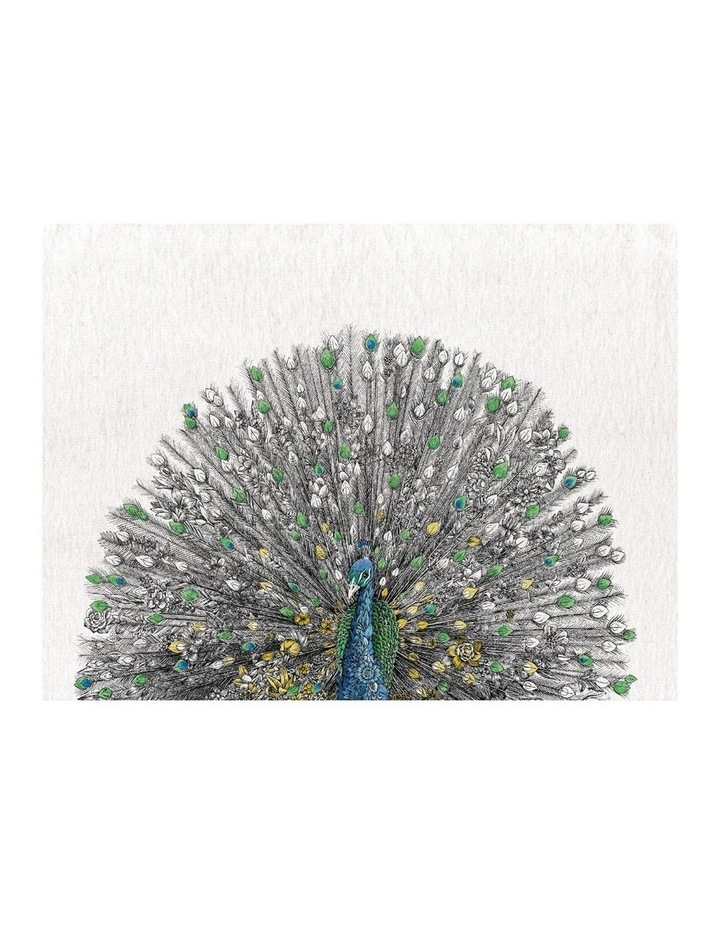 Marini Ferlazzo Birds Tea Towel 50x70cm Peacock image 1