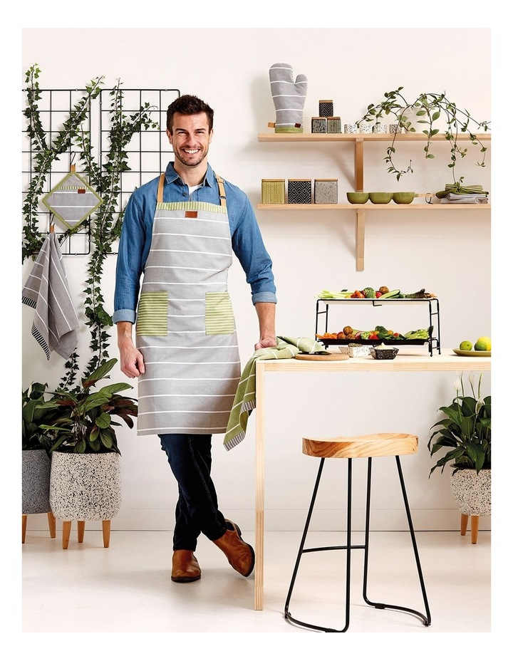 Biotic Woven Grey 3pk Kitchen Towel image 2