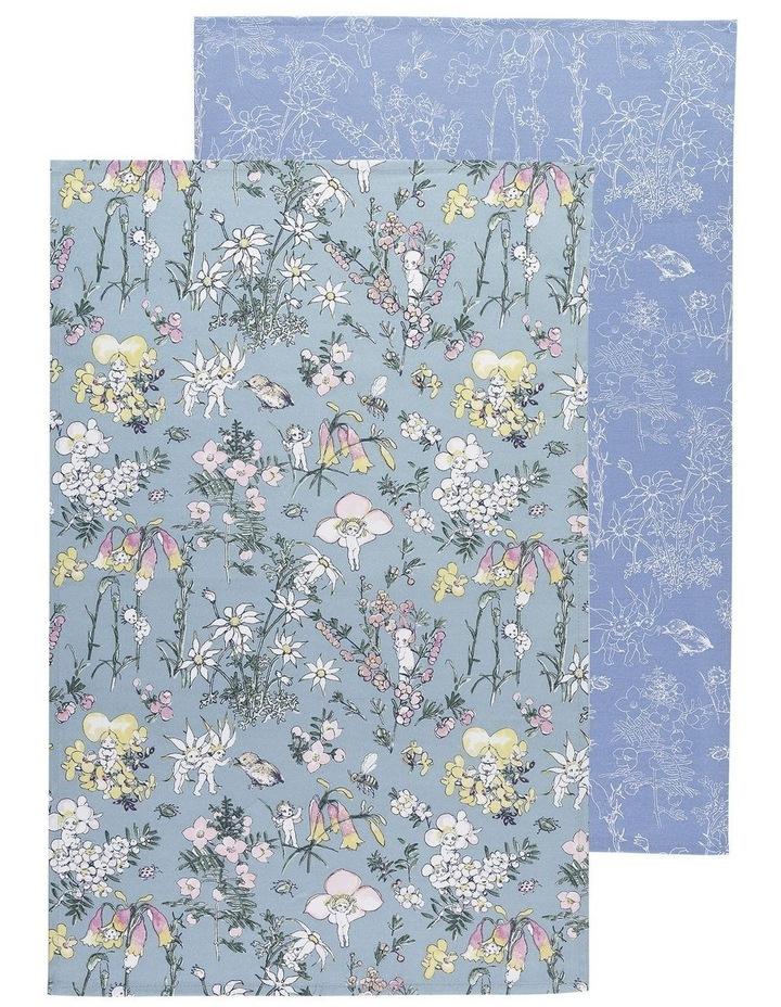 May Gibbs Flower Babies Set Of 2 Tea Towels image 1