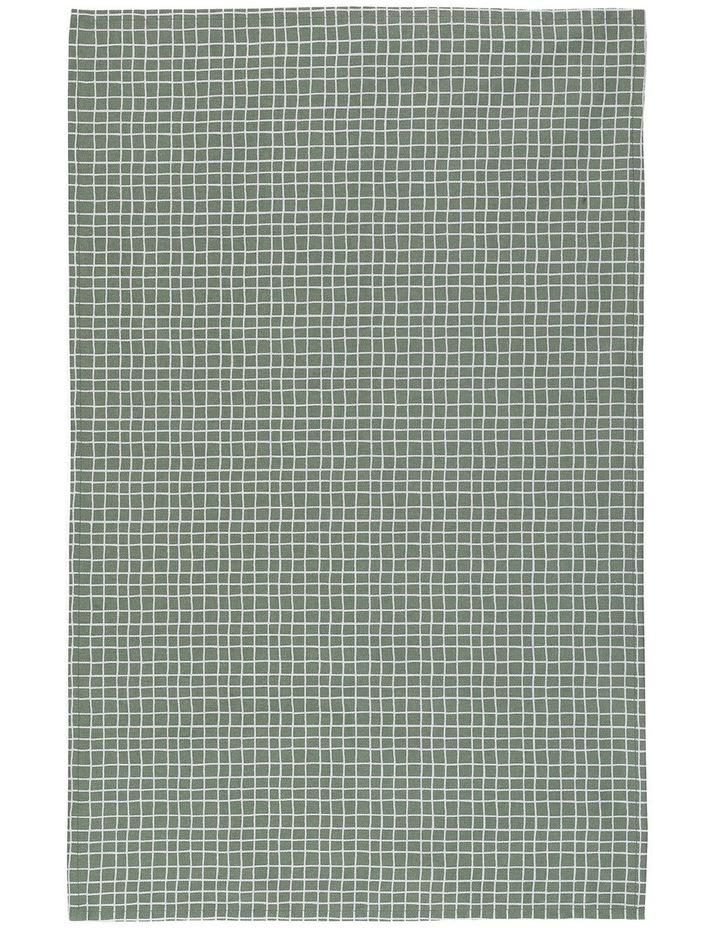Blinky Bill Set of 2 Tea Towels - Green image 3