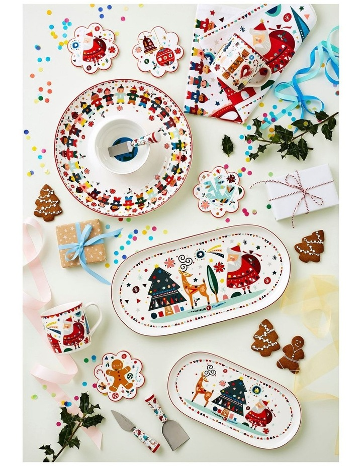Festive Friends Bowl 10cm Set of 3 Gift Boxed image 2