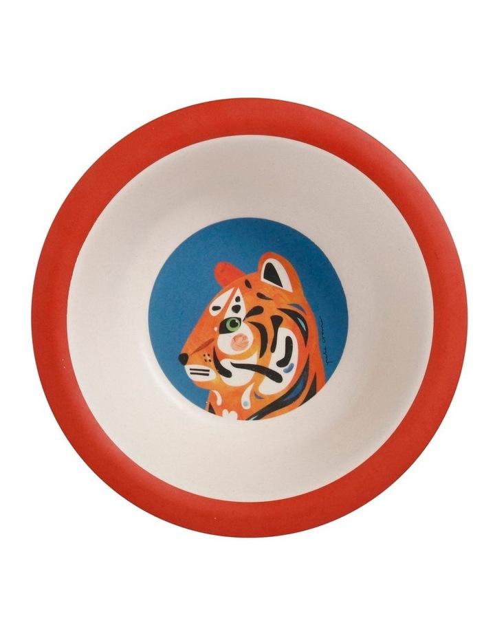 Pete Cromer Wildlife Children's 3pc Dinner Set Lion image 3