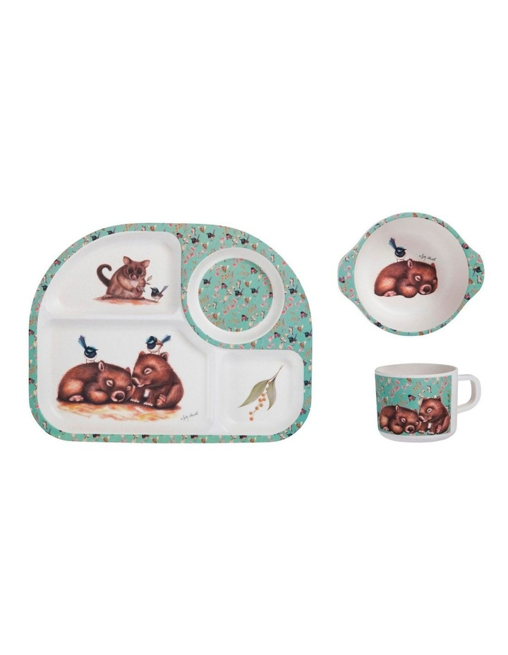 Sally Howell Children's 3pc Dinner Set Wombat image 1
