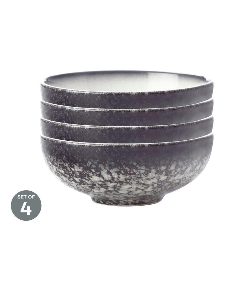 Caviar Granite Coupe Bowl 11x4cm Set of 4 image 1