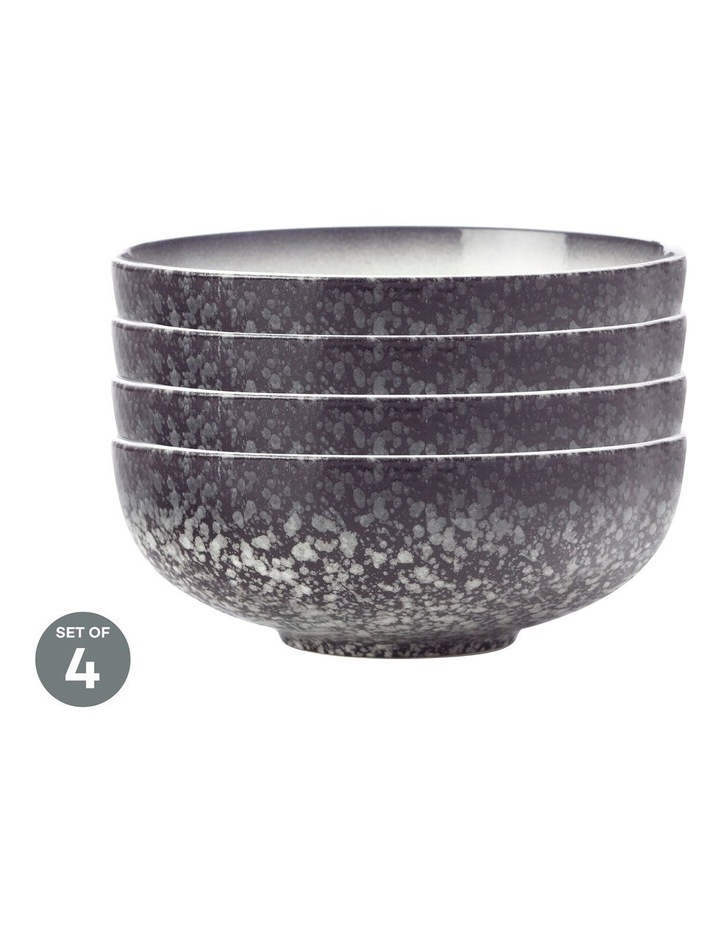 Caviar Granite Coupe Bowl 19cm Set of 4 image 1