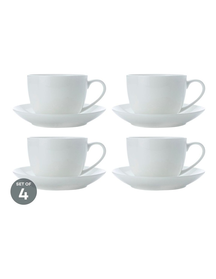 Cashmere Cup & Saucer 230ML Set of 4 image 1