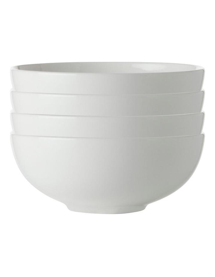 White Basics Coupe Bowl 12cm Set of 4 image 1