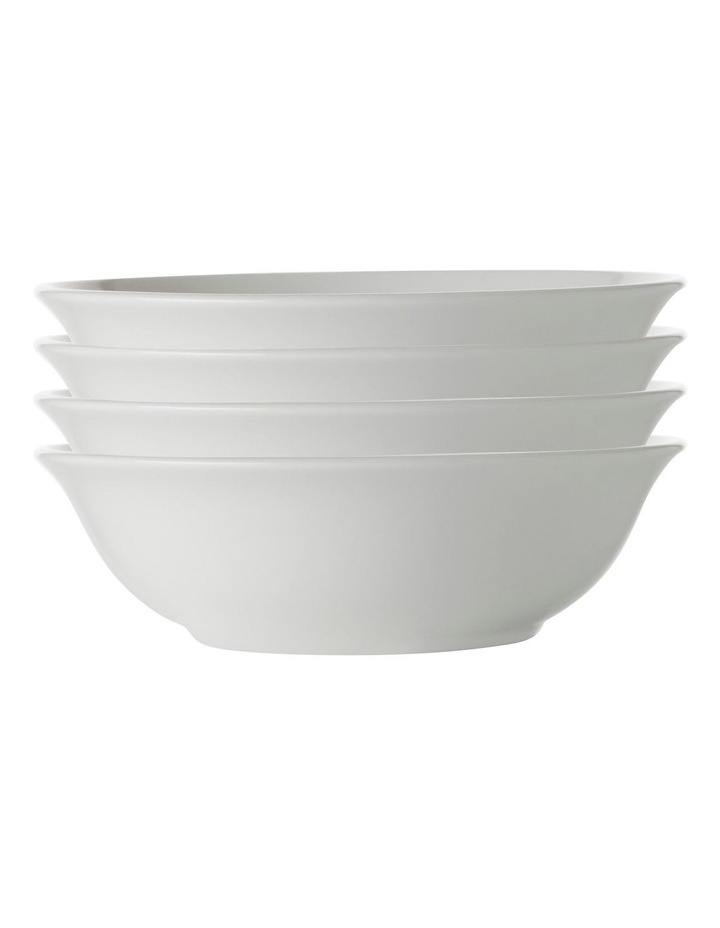 White Basics Soup/Cereal Bowl 17.5cm Set of 4 image 1