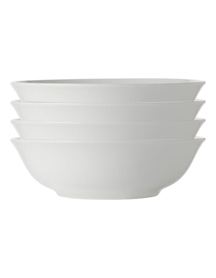 White Basics Soup/Pasta Bowl 20cm Set of 4 image 1