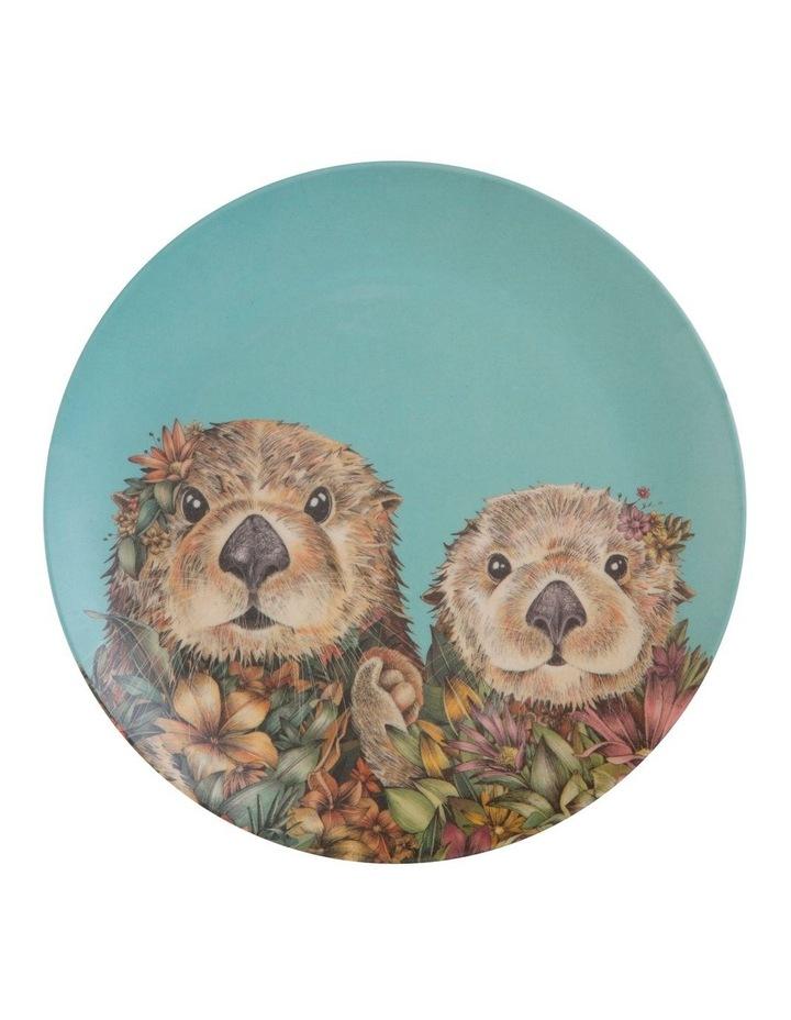 Marini Ferlazzo Wild Planet Bamboo Plate 20cm Set Of 4 Assorted Boxed image 4