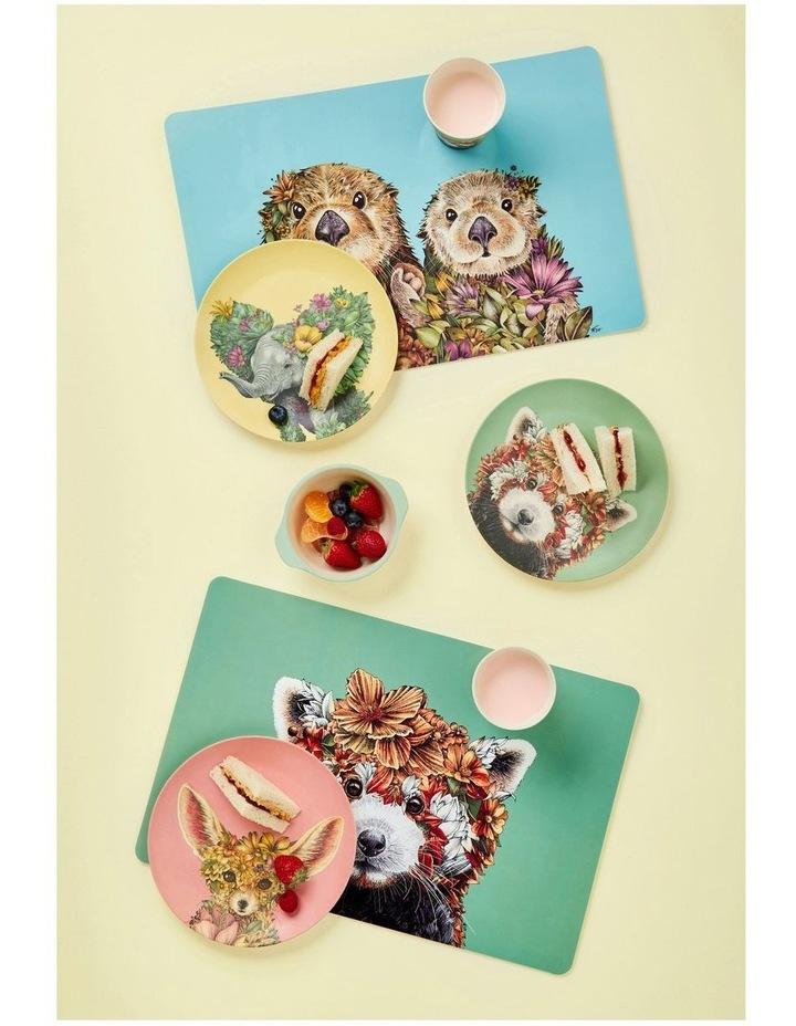 Marini Ferlazzo Wild Planet Bamboo Plate 20cm Set Of 4 Assorted Boxed image 6
