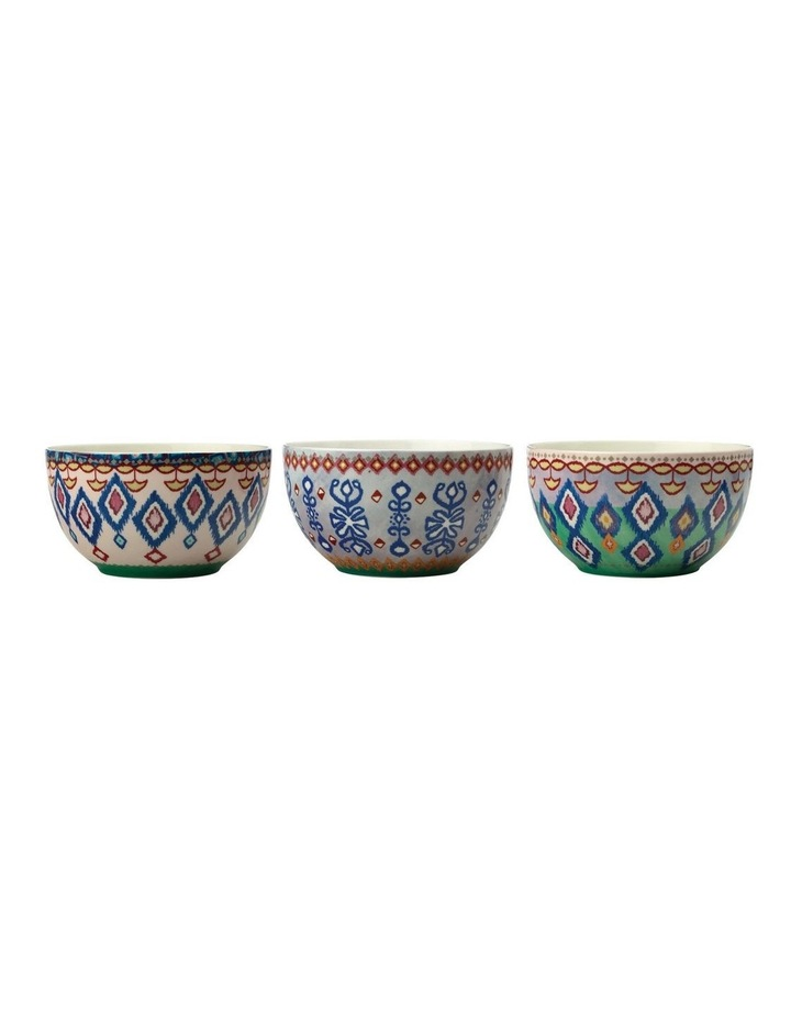 Teas & C's Zanzibar Bowl 12cm Set Of 3 Gift Boxed image 1