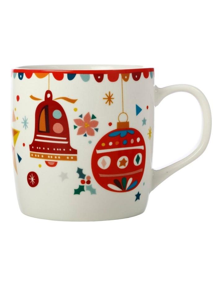Festive Friends Mug 375ML Bells Gift Boxed image 1