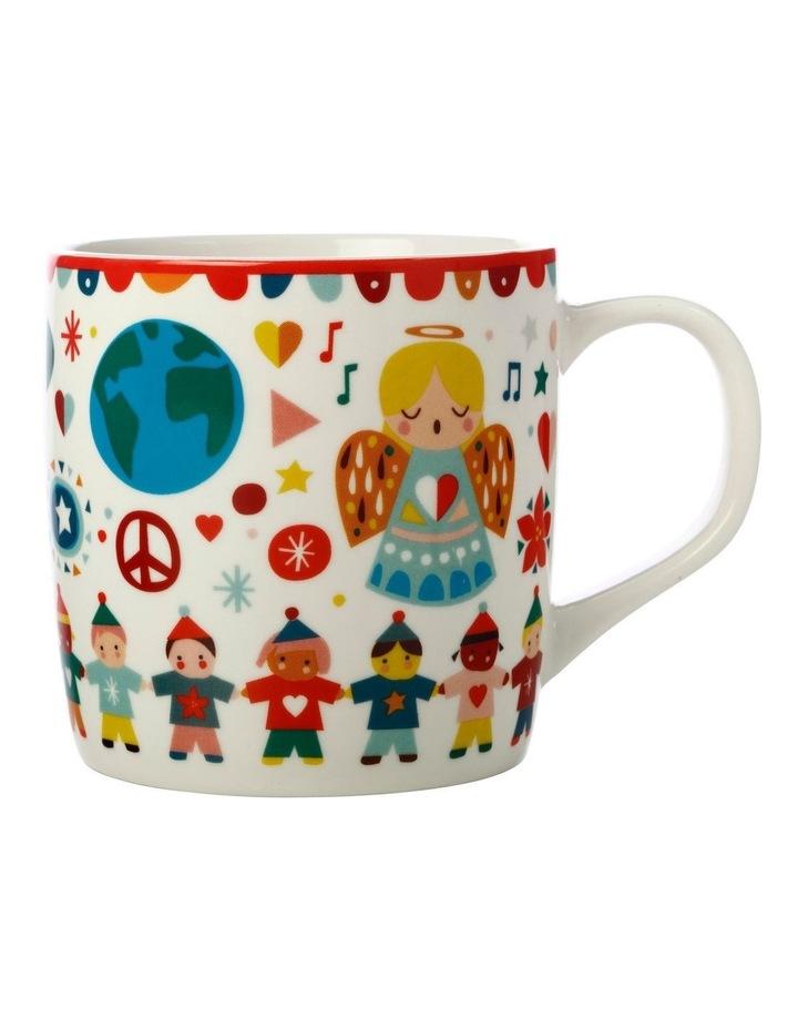 Festive Friends Mug 375ML Peace Gift Boxed image 1