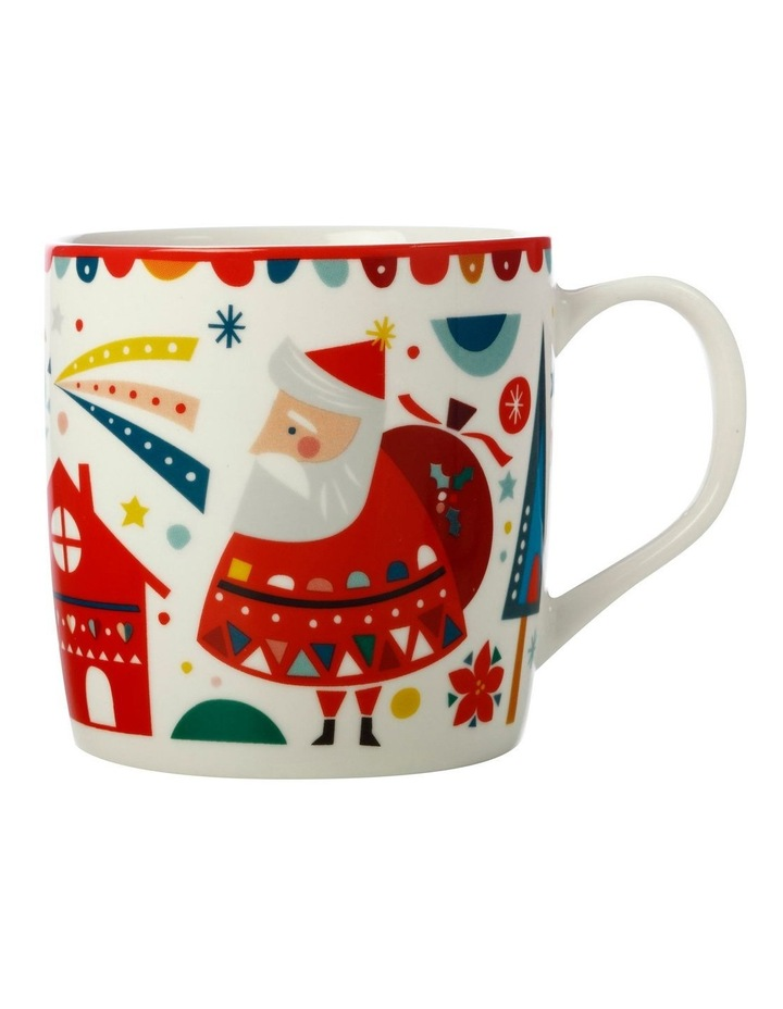 Festive Friends Mug 375ML Santa Gift Boxed image 1