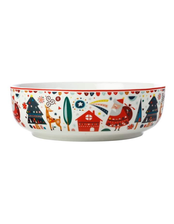 Festive Friends Round Bowl 25cm Gift Boxed image 1