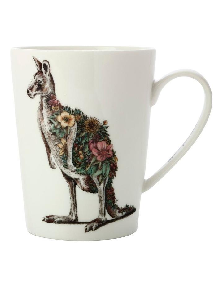 Marini Ferlazzo Australian Families Mug 450ML Tall Kangaroo Gift Boxed image 1