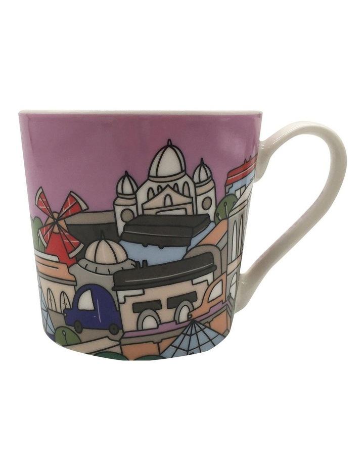 Megan McKean Cities Mug 430ML Paris Gift Boxed image 1