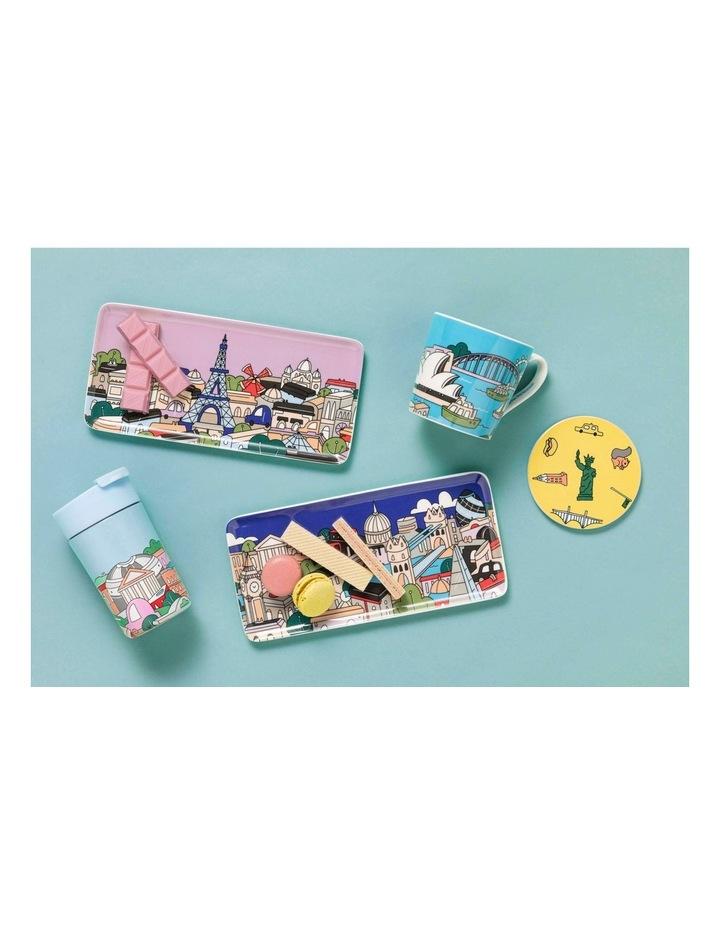 Megan McKean Cities Rectangle Plate 25x12cm Paris Gift Boxed image 2