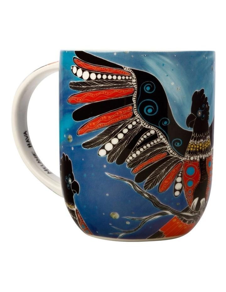 Melanie Hava Jugaig-Bana-Wabu Mug 440ML Black Cockatoos Gift Boxed image 3