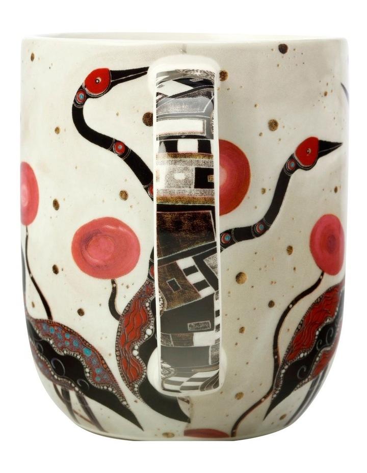 Melanie Hava Jugaig-Bana-Wabu Mug 440ML Brolgas Gift Boxed image 2