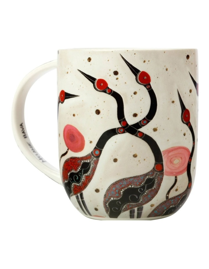 Melanie Hava Jugaig-Bana-Wabu Mug 440ML Brolgas Gift Boxed image 3