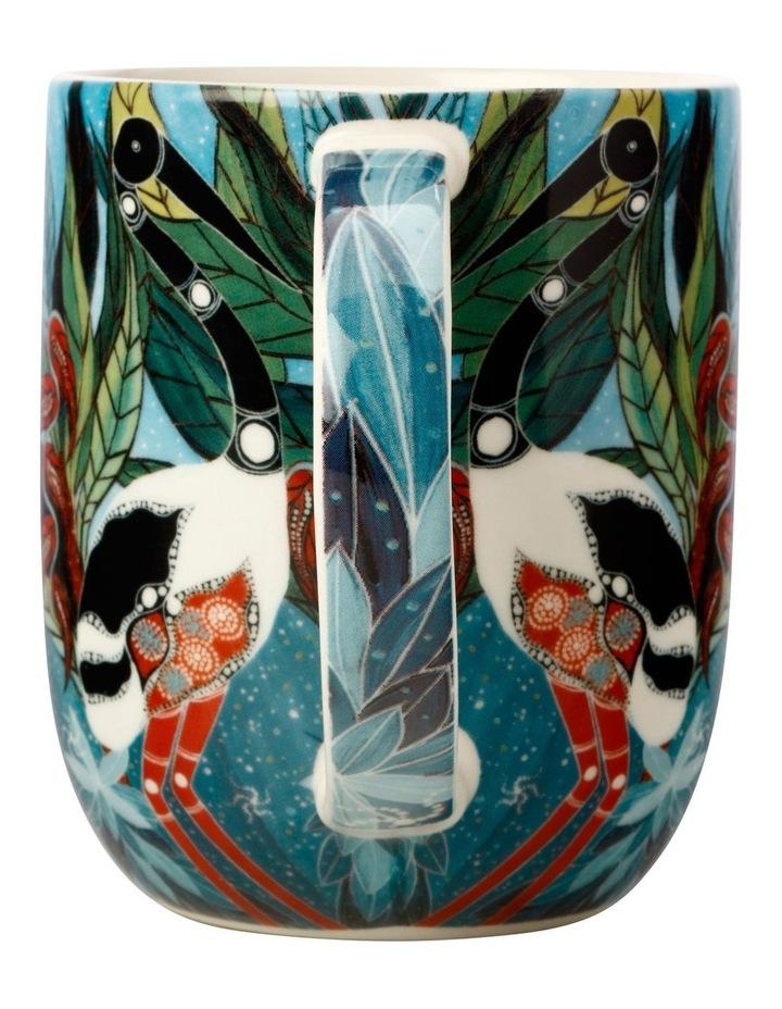 Melanie Hava Jugaig-Bana-Wabu Mug 440ML Jabirus Blue Gift Boxed image 2