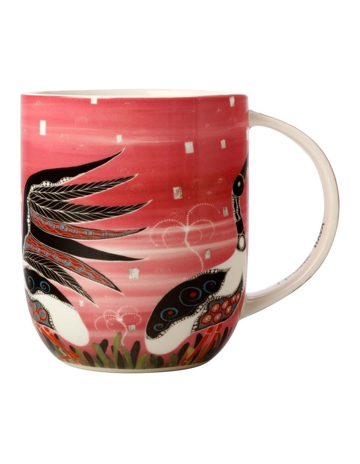 Melanie Hava Jugaig-Bana-Wabu Mug 440ML Jabirus Pink Gift Boxed image 1