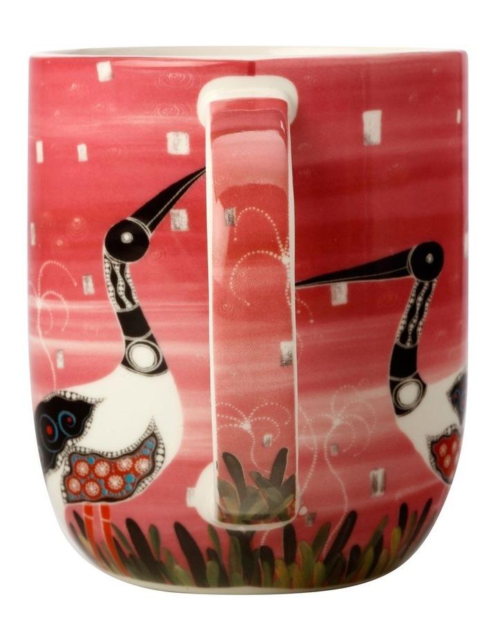 Melanie Hava Jugaig-Bana-Wabu Mug 440ML Jabirus Pink Gift Boxed image 2