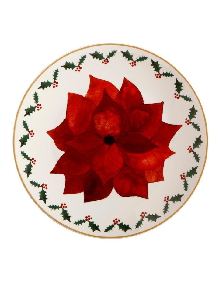 Poinsettia Plate 20cm Poinsettia Gift Boxed image 1