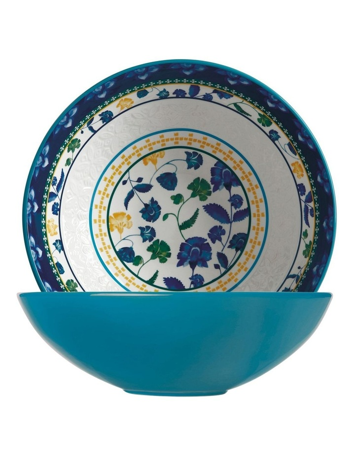 Rhapsody Round Bowl 30cm Blue Gift Boxed image 1