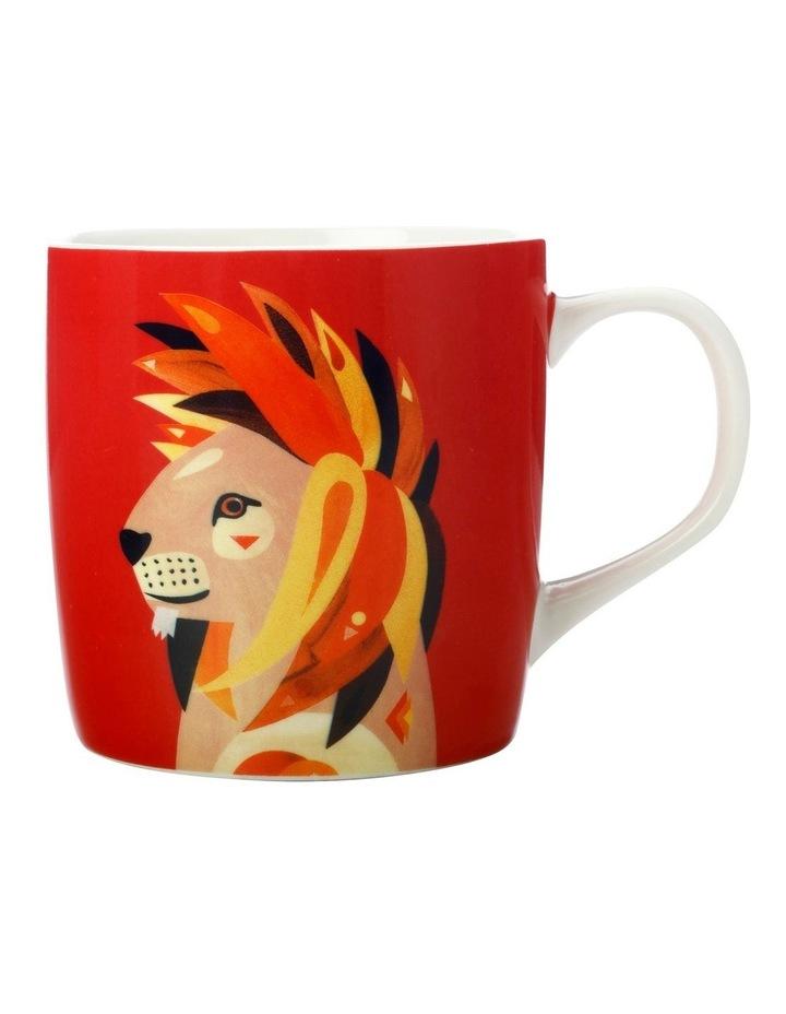 Pete Cromer Wildlife Mug 375ML Lion Gift Boxed image 1