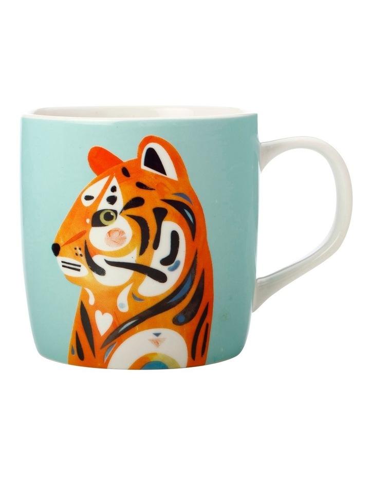 Pete Cromer Wildlife Mug 375ML Tiger Gift Boxed image 1