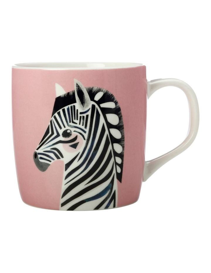 Pete Cromer Wildlife Mug 375ML Zebra Gift Boxed image 1