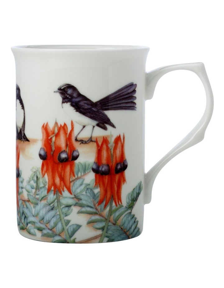 Royal Botanic Gardens Victoria Garden Friends Mug 300ML Willy Wagtail Gift Boxed image 1