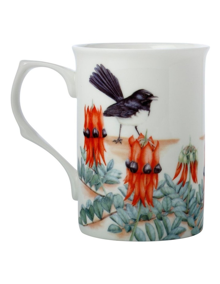 Royal Botanic Gardens Victoria Garden Friends Mug 300ML Willy Wagtail Gift Boxed image 2
