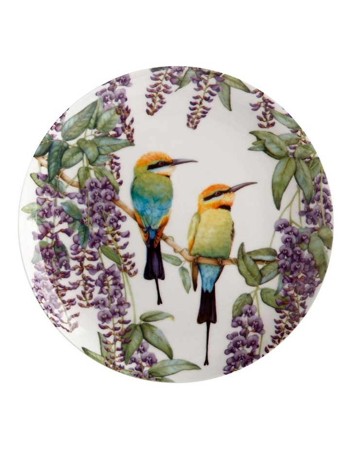 Royal Botanic Gardens Victoria Garden Friends Plate 20cm Rainbow Bee-eater Gift Boxed image 1