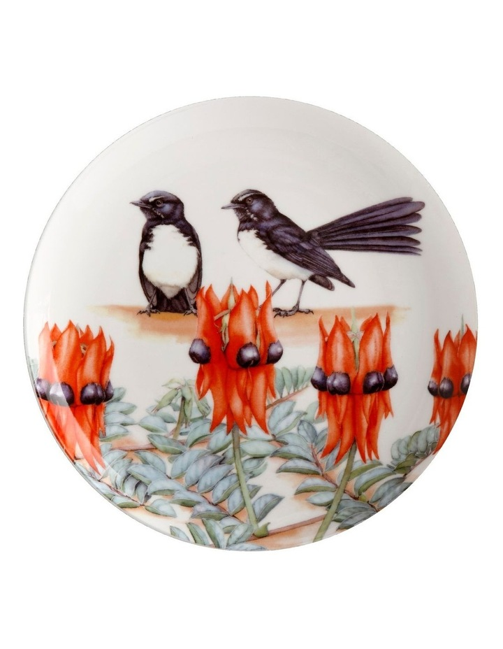 Royal Botanic Gardens Victoria Garden Friends Plate 20cm Willy Wagtail Gift Boxed image 1