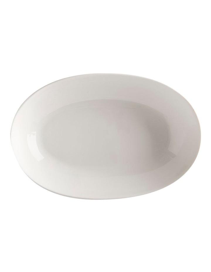 White Basics Oval Bowl 30x20cm image 1