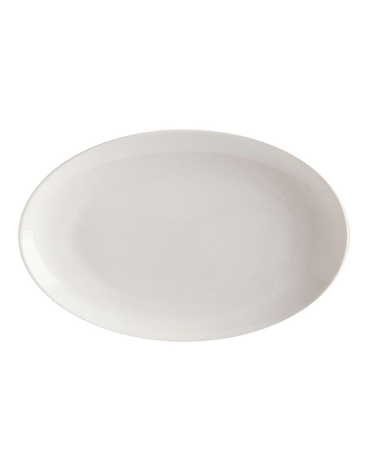 White Basics Oval Plate 25x16cm image 1