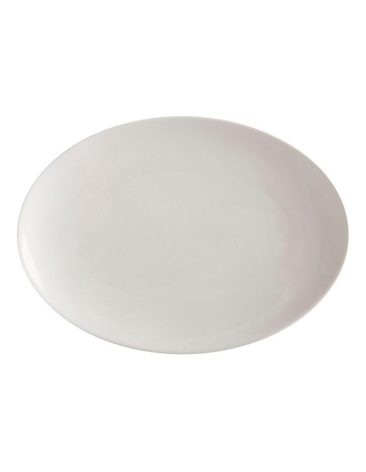 White Basics Oval Plate 30x22cm image 1