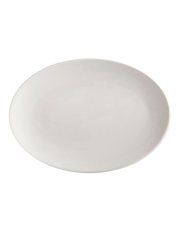 White Basics Oval Plate 35x25cm image 1