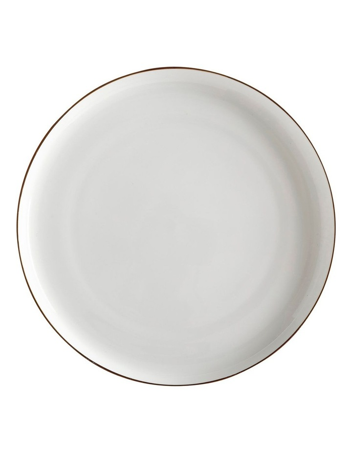 Cashmere Luxe High Rim Plate 26.5cm Gold image 1