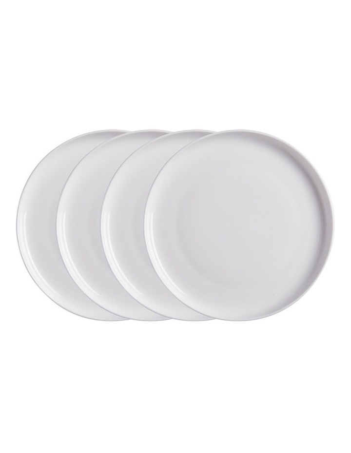 Cashmere High Rim Entree Coupe Plate 23cm Set of 4 image 1