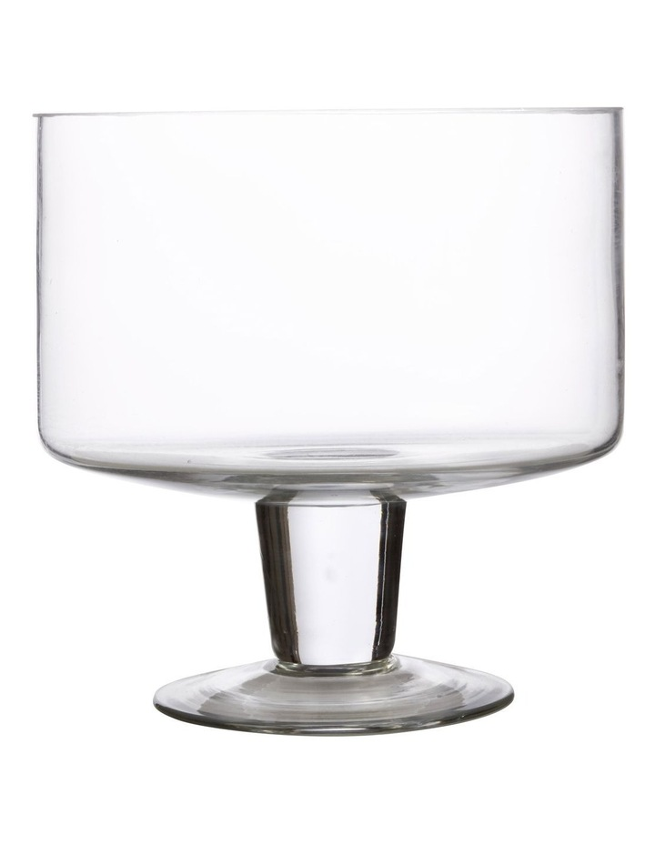 Diamante Footed Trifle Bowl 20cm Gift Boxed image 1